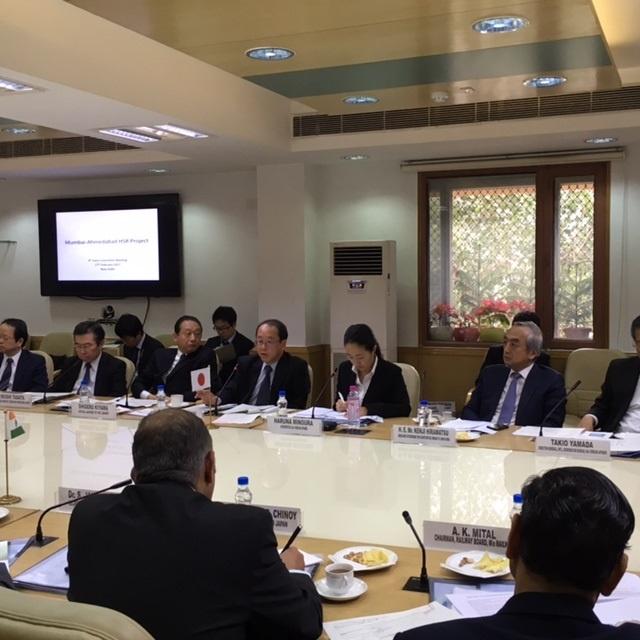 インド高速鉄道に関する第4回合同委員会の開催
