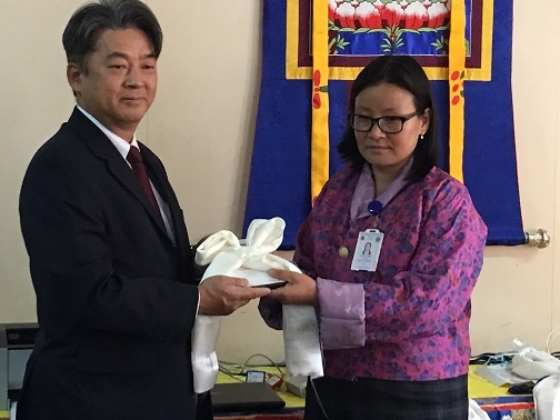 Handover Ceremony of 'Project for Provision of Medical Equipment for Jigme Dorji Wangchuck National Referral Hospital' (January 31, 2019)