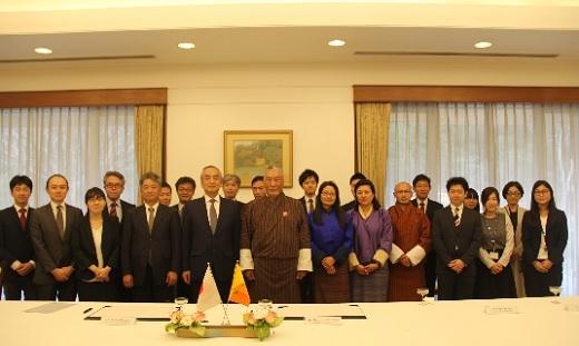 Three Grant Assistance Projects towards Bhutan signed in the amount of 24 million Yen (March 6, 2019)