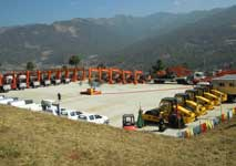 Construction machinery & equipment to Bhutan