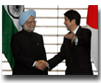 PM Abe and PM Singh